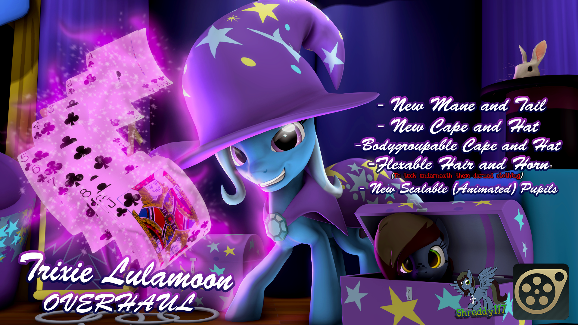 Trixie Lulamoon Overhaul [SFM]