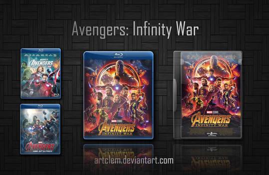 Avengers 3 Infinity War (2018) Folder Icons