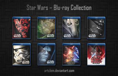 Star Wars - Complete Saga Folder icons