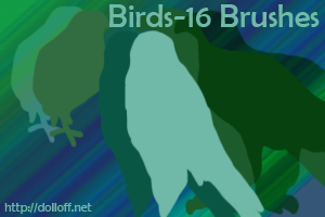 Bird Brushes-16 by AquaPheonix592