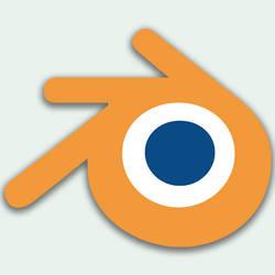Blender 3D logo
