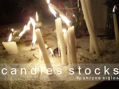 Candle Stock by laceratedwrists