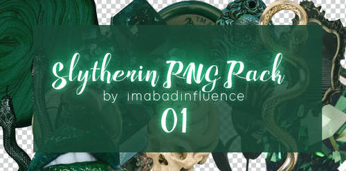 Slytherin PNG Pack