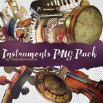 Instruments PNG Pack