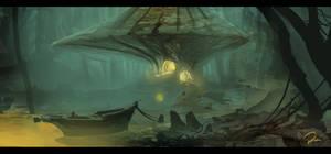 Swamp painting 3