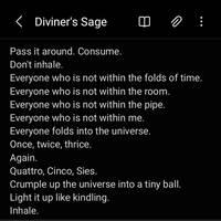 Diviner's Sage