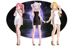 Moon Light Dancers Teto,NeruxHaku[note me for Dl]