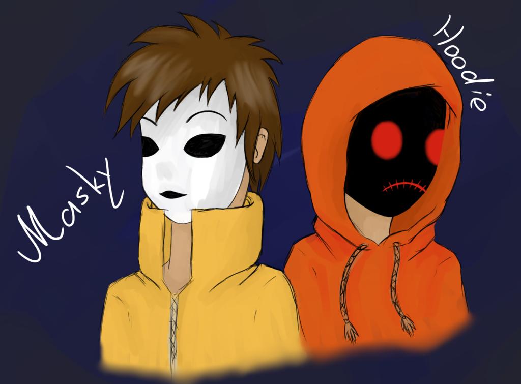 Merry X Mas Cheescake Masky X Reader X Hoodie By