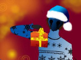 Merry X-Mas:Black Hoodie (Eyeless Jack X Reader) by ShadowCakeMaker