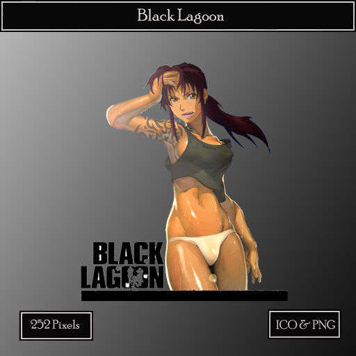 Black Lagoon Icon by N0sferatu13