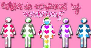 Styles de corazones by Deelf
