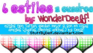 estilos tartan by WonderDeelf