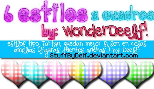 estilos tartan by WonderDeelf by StuffByDelf