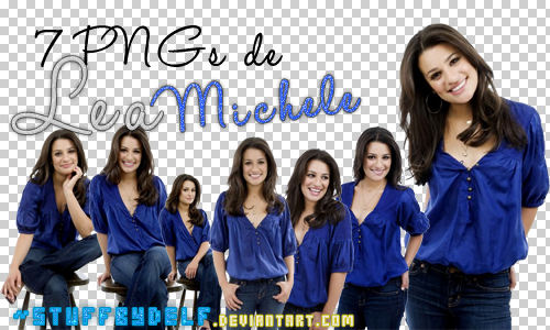 7 PNGs de Lea Michele by StuffByDelf