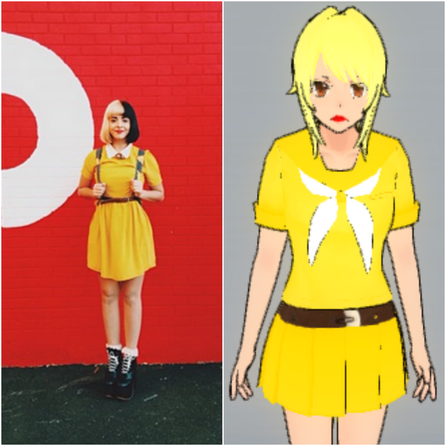 Yandere Simulator Cosplays Outfit Melanie 1 by SparkleShinedBlue on DeviantArt