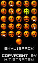 Glossy Smylie Pack by Thousandhands
