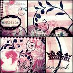Pink texture pack-4 textures