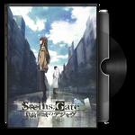 Steins,gate movie Dvd Folder Icon