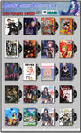 Anime DVD Folder Icons Pack 007