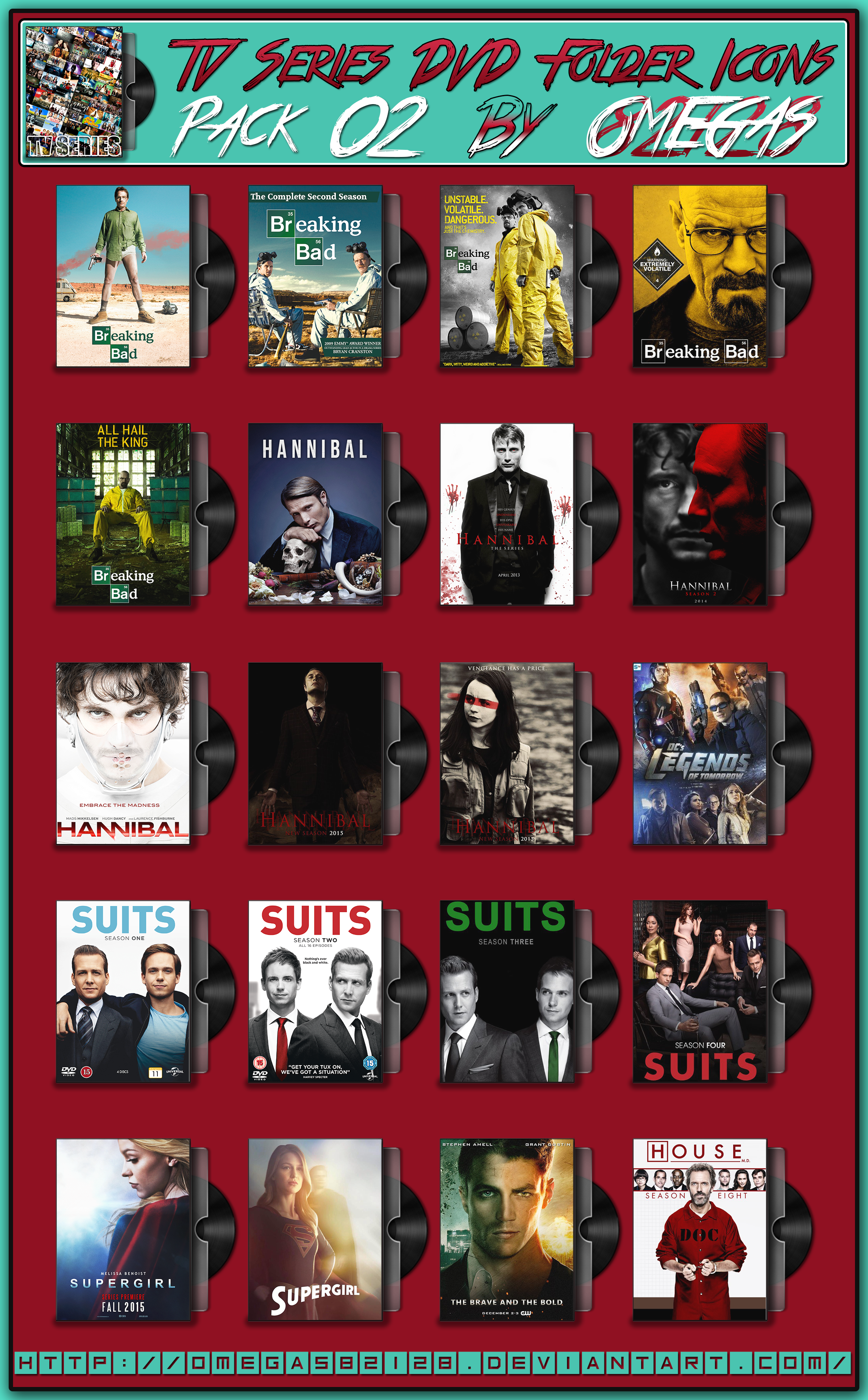 TV Series DVD Folder Icons Pack 02 by Omegas82128 on DeviantArt