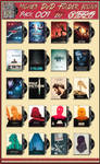 Movies DVD Folder Icons Pack 009