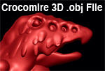 3D Crocomire Object File by Inkblot-Rabbit