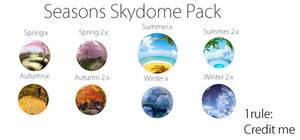 .:Skydomes:. Seasons Skydome Pack