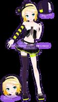 .:Model DL:. LAT LUVORATORRRRRY! Kagamine Rin