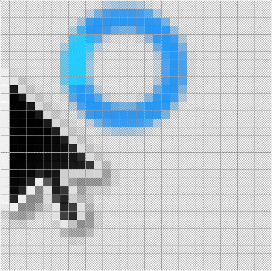 Windows 8 Black Cursor (Metro) by Jrexxx