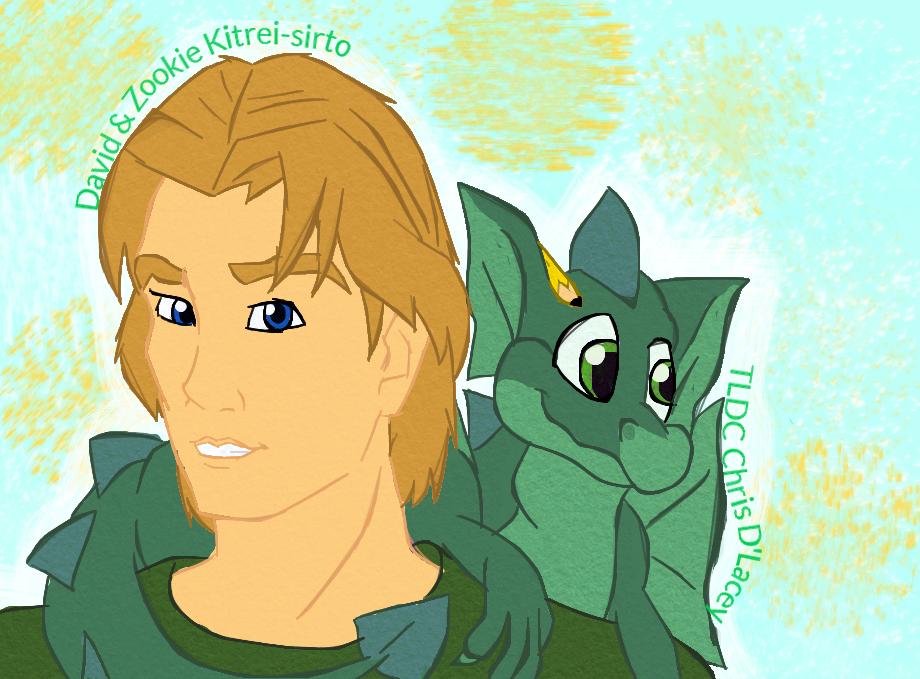 David Rain Disney style by Kitrei-Sirto
