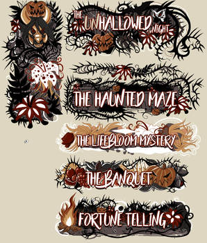 .:Hallowed Night:. Event Banners