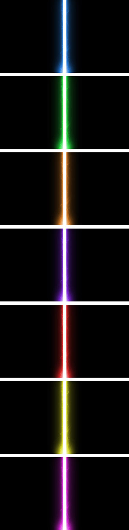 Lightsaber Wallpaper Pack by nerfAvari