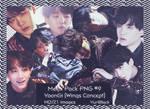 Mega Pack PNG #9 - Suga of BTS [Wings Concept]