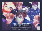 Mega Pack PNG #12 -  JungKook BTS [Wings Concept]