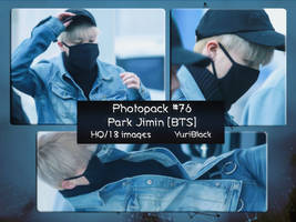Photopack #76 - Park Jimin [of BTS] by YuriBlack