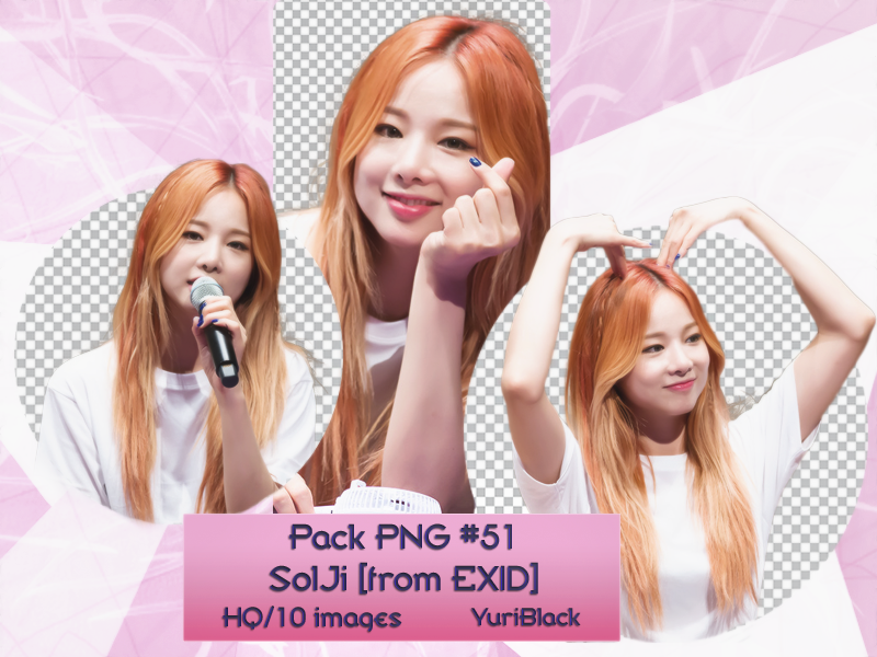 Pack PNG #51 - Solji [from EXID] |01| by YuriBlack on DeviantArt