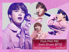 Pack PNG #80 - Park JiMin [from BTS] |01| by YuriBlack