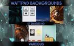 Wattpad Backgrounds Pack #3