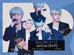 Pack PNG #112 - JongUp [B.A.P] |01| by YuriBlack