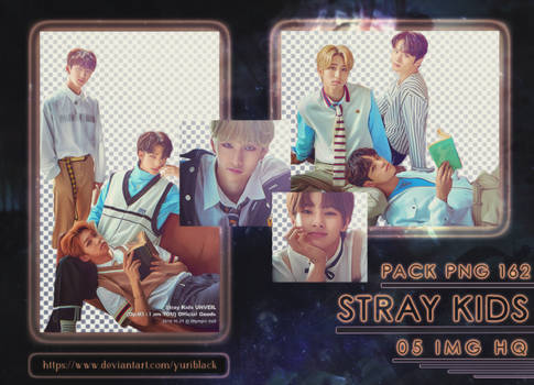 Pack PNG #162 - Stray Kids