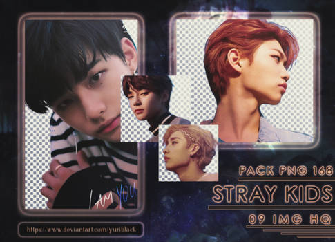 Pack PNG #168 - Stray Kids [I am you]