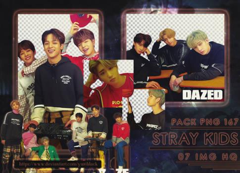 Pack PNG #167 - Stray Kids [Dazed Magazine]