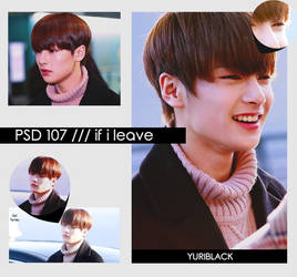 PSD #107 - If i leave by YuriBlack