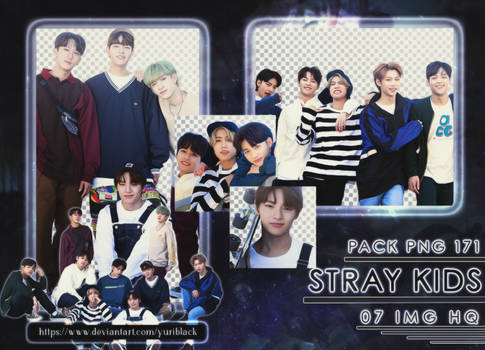 Pack PNG #171 - Stray Kids [Naver x Dispatch]