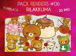 Render Pack #6 - Rilakkuma by YuriBlack