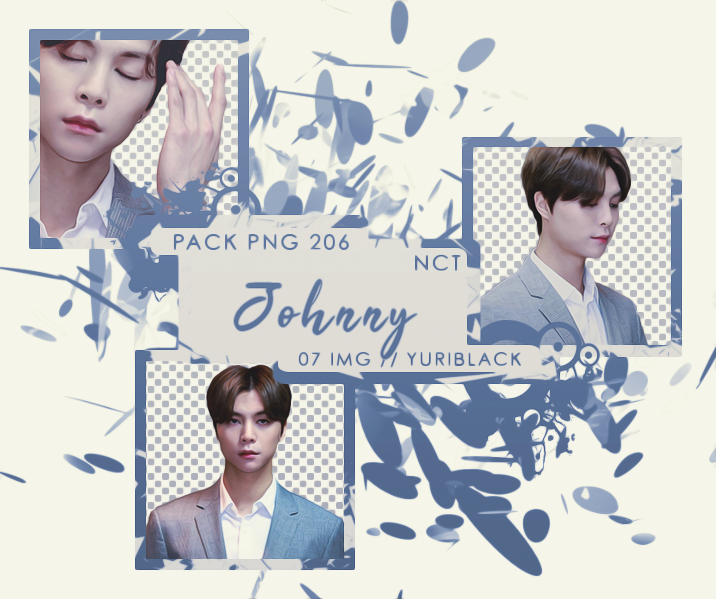 Pack Png 206 Johnny Nct By Yuriblack On Deviantart