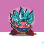 Kirby x Goku