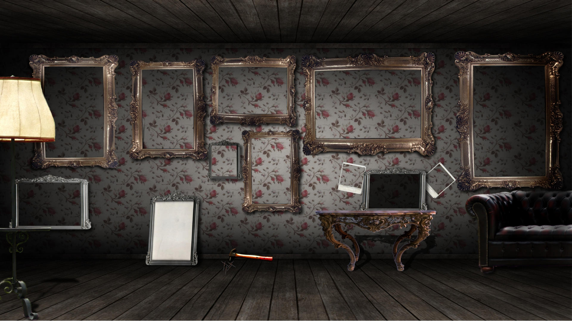 wallpaper room on Wallpaper Frames Room Paper Living Ephoras Picture  title=