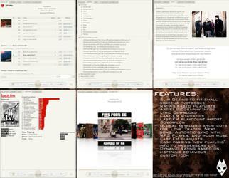 Foobar2000 Perfekt Slim +WIP+ by Ephoras