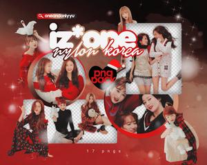 PNG PACK #21 | IZ*ONE X NYLON KOREA